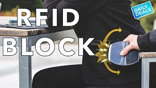 RFID Blocking,  Best RFID Wallet Blocking Card Protector ► The Deal Guy