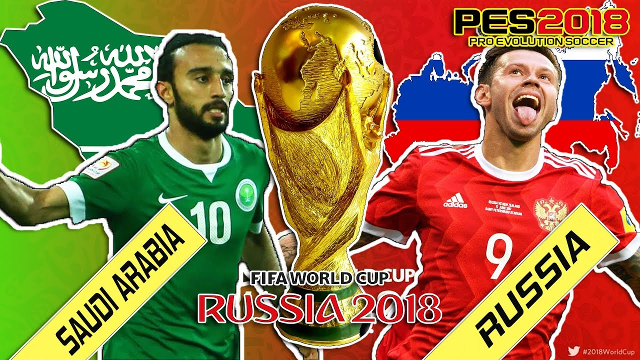 Image result for Russia vs Saudi Arabia pic