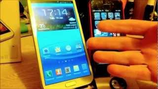Galaxy Note 2 vs IPhone 5
