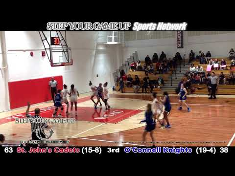 February 14, 2020- St. John's 100, O'Connell 59