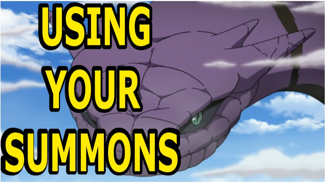 how to get summons in naruto online
