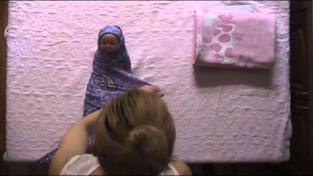 Как правильно пеленать ребенка пошагово
