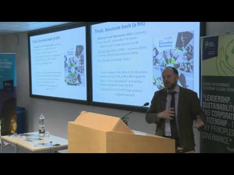 "Paul Monaghan: ""The Rise of Social Enterprise"""