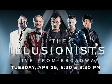 GBPAC 2015-2016 Artist Series: The Illusionists