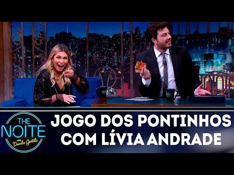 Jogo dos Pontinhos com Lívia Andrade | The Noite (12/04/18)