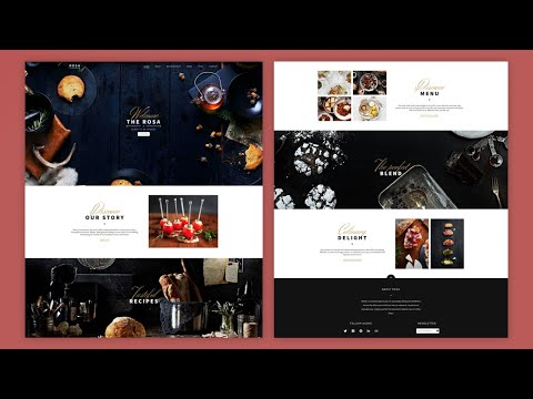 Build A Responsive Website With Animations | HTML And CSS Tutorial