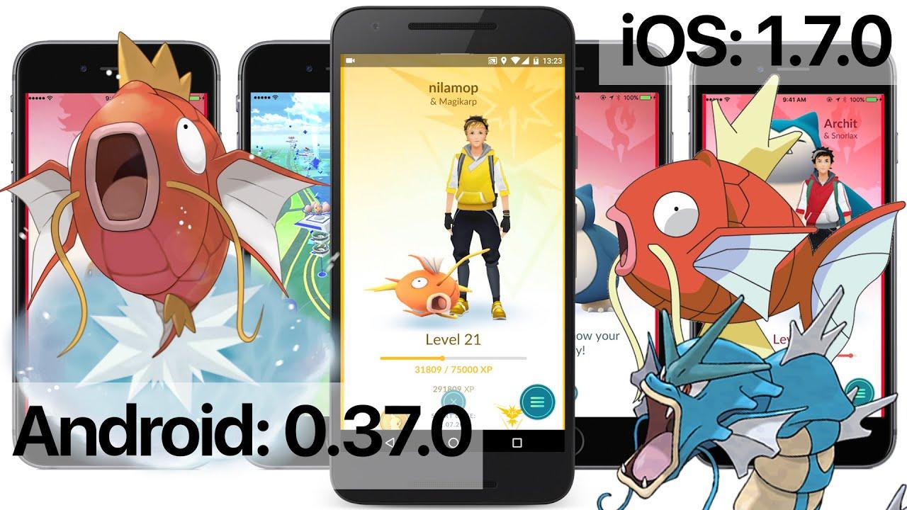 Скачать pokemon go 0. 37. 0.