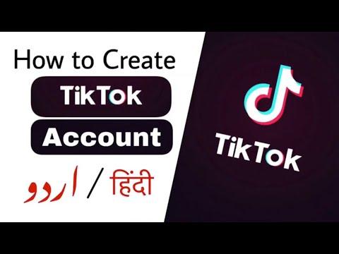 How To Create Tiktok Account In Urdu Tiktok Account Kaise Banaye Youtube