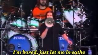 Dream Theater -  Just let me breathe ( Esparrago Rock ) - with lyrics