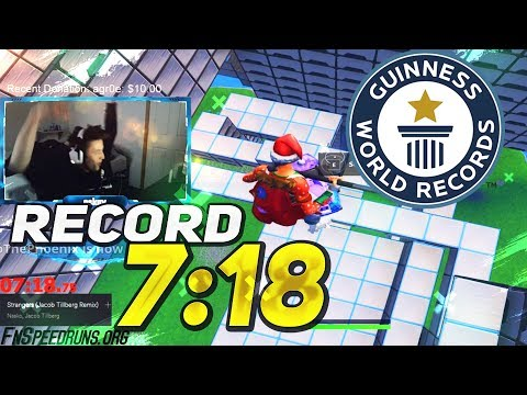 *7:18 WORLD RECORD PARKOUR IMPOSIBLE CIZZORZ 2.0 *ALL LEVELS* FORTNITE