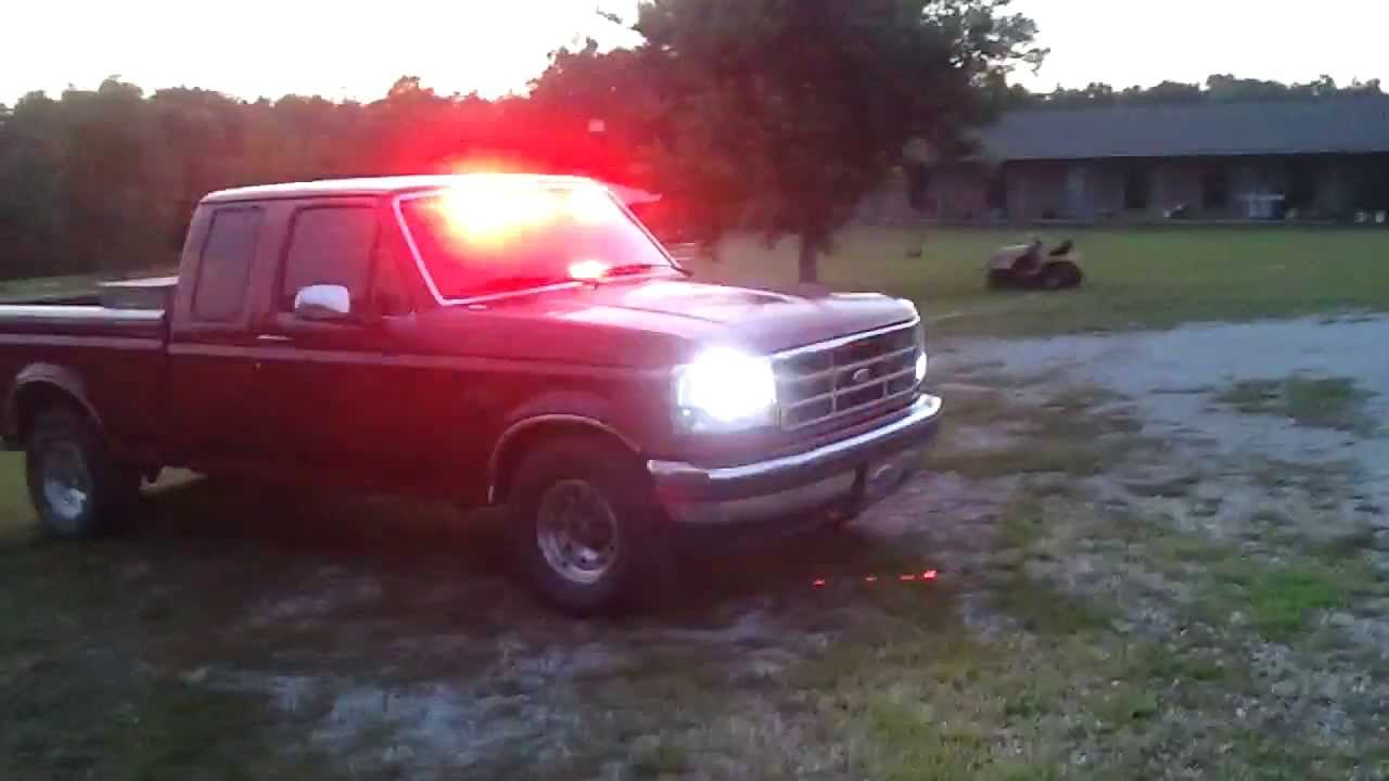 1995 ford f150 fire pov lights youtube 1995 ford f150 fire pov lights aloadofball Choice Image
