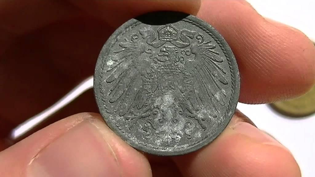 Deutsches Reich 10 Pfennig 1921 Youtube