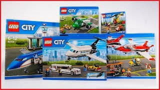 COMPILATION LEGO CITY AIRPORT 2016 Sets Speed Build