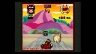 Wacky Races Game Boy Gameplay