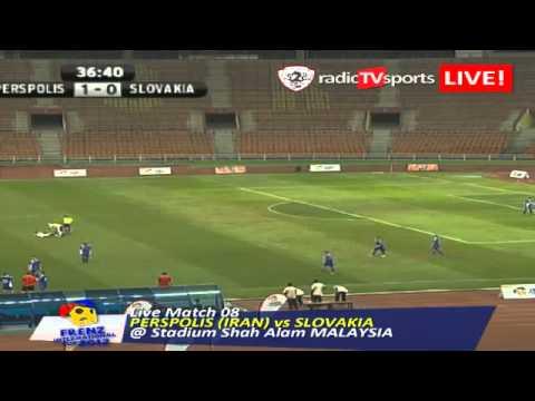 Live Match 08 PERPOLIS (IRAN) vs SLOVAKIA  @ Stadium Shah Alam