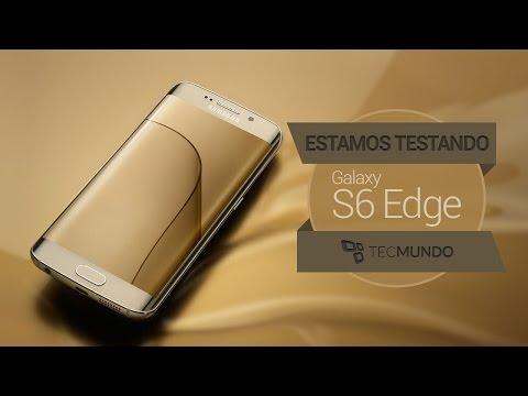 Estamos testando o Galaxy S6 Edge; tire suas dúvidas
