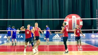 USA vs Brazil Highlights (2017-8-19), Day 2 of USAV Cup