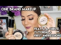 FULL FACE MAKEUP feat. LA GIRL PRO HD FOUNDATION AND STROBE LITE + FIRST IMPRESSION | oeuvretrends
