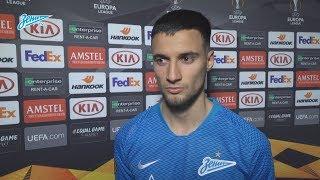 Эмануэль Маммана на «Зенит-ТВ»: «Наш тренер Семак заряжает нас энергией на каждый матч»