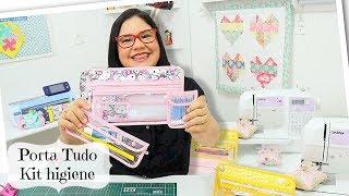 D.I.Y. – Porta Tudo – Kit Higiene Karina Uzêda