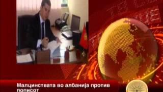 Васил Стерјовски-Декларација против пописот во Албан.