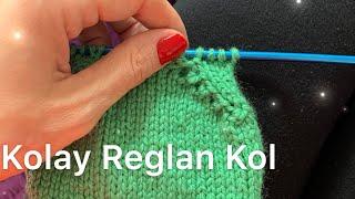 En Kolay Reglan Kol Kesimi / Raglan Armhole