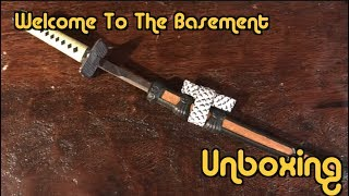 Samurai Sword - Unboxing (Welcome To The Basement)