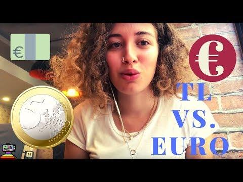 TÜRKİYE'DE 5 EURO İLE BİR GÜN GEÇİRMEK - 1 EURO = 7.8 TÜRK LİRASI