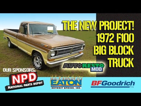 Ford F100 Project 1967, 1969, 1970, 1971, 1972 What Is Colonel Mustard Episode 290 Autorestomod