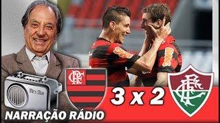 Flamengo 3 x 2 Fluminense # Brasileiro 2011 # Gols Na voz de José Carlos Araújo
