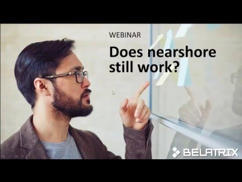 WEBINAR: Does Nearshore Still Work?