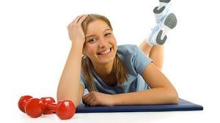 Фитоняшки   Фитнес зарядка для девушек   Фитнес дома