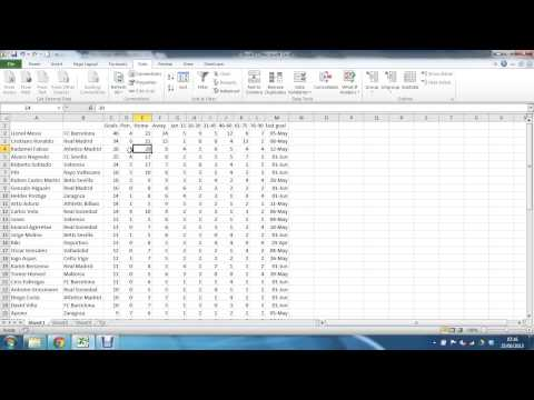 Import Data from the Web into Excel