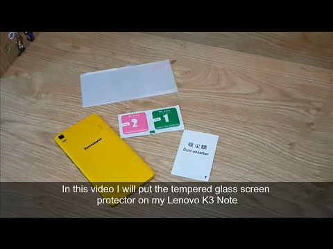 Tempered glass screen protector installation for smart phone