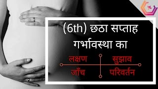 Pregnancy in Hindi - (6th Week) Pregnancy Week by Week in Hindi