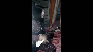 bukan yang pertama versi gadis Mesuji  | Guitar Cover