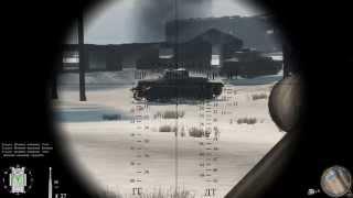 Танковый бой в игре Red Orchestra 2(Вот примерно так выглядит танковый бой прибилженный к реальному. С месте командира в 34ке нихрена не видно!!! :), 2014-05-29T20:59:10.000Z)