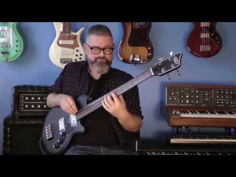 "Marc Rogers plays the Supro Huntington II fretless on Barbra Lica's ""5 O'Clock Lullaby"""