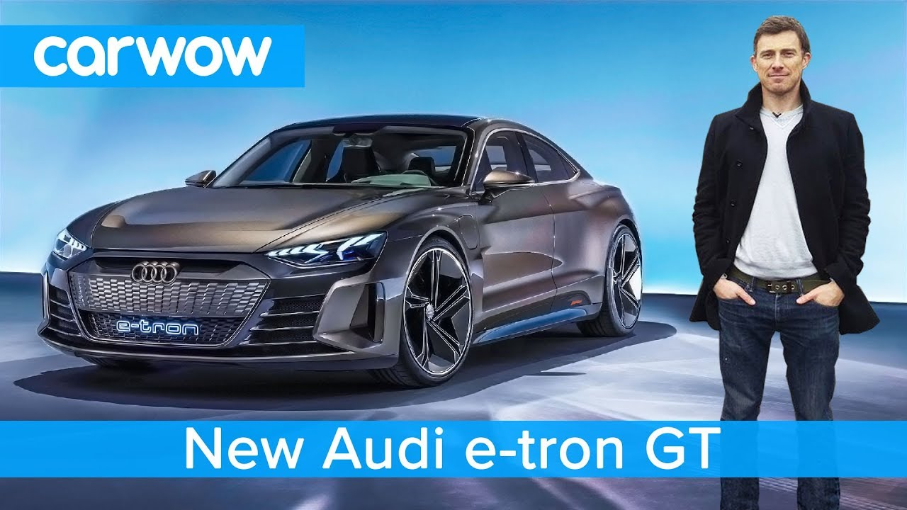 New Audi E Tron Gt Is This Ev A Tesla Model S Beater Youtube