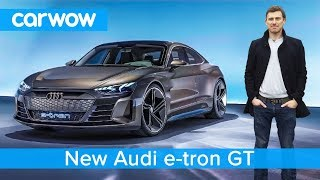 NEW Audi e-tron GT - is this EV a Tesla Model S beater?