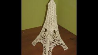 Как изготовить Эйфелеву башню из айсинга дома