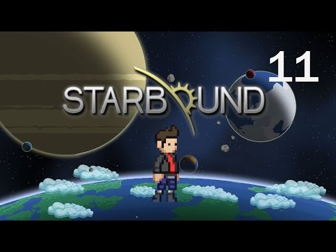 Journey to the Center of the Universe | Let's Play Starbound Glad Giraffe Episode 11