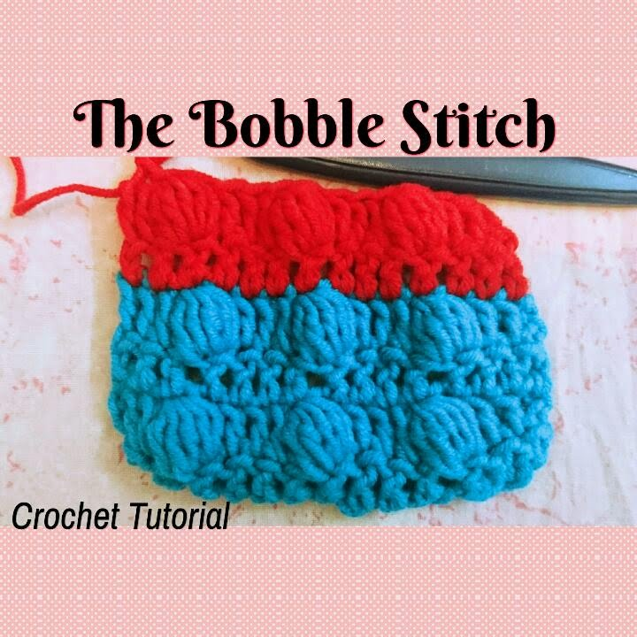 Crochet Made Easy How To Make The Bobble Stitch Crochet Basics