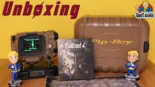 Fallout 4 Pip-Boy Edition Unboxing ITA - Test + Bobblehead Vault Boy