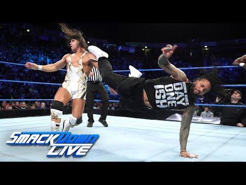 Usos vs. Benjamin & Gable - SmackDown Tag Team Title Match: SmackDown LIVE, Nov. 7, 2017
