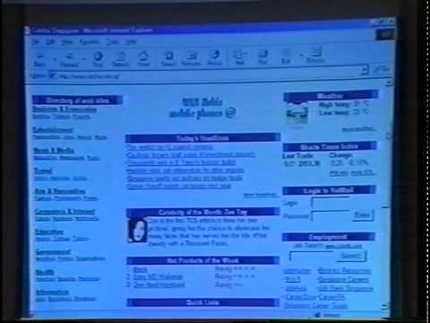 31 August 1999 Media Launch of Catcha.com | Singapore