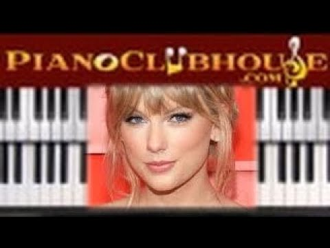 """🎹How to play """"ME"""" by Taylor Swift (easy piano tutorial lesson free) thumbnail"""