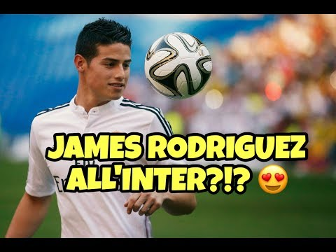 JAMES RODRIGUEZ ALL'INTER? - TUTTO VERO!