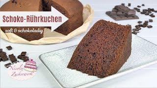 lecker & schokoladiger SCHOKOKUCHEN I Basic Rezept für eure Torten I Nicoles Zuckerwerk