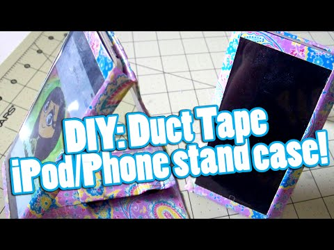 diy:-duct-tape-ipod/phone-stand-case!